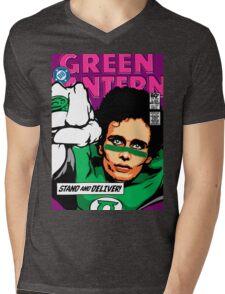 Post-Punk Super Friends - Green Mens V-Neck T-Shirt