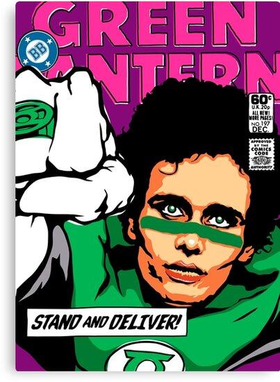 Post-Punk Super Friends - Green by butcherbilly