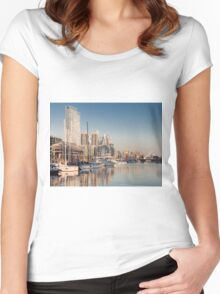 Puerto Madero - Buenos Aires (Argentine) Women's Fitted Scoop T-Shirt