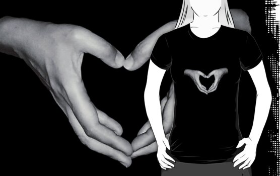"""I Love You"" - Christchurch Quake Relief Tee by Tara Lemana"