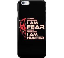 Dark Side Hunter iPhone Case/Skin