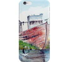 Hull of a retirement iPhone Case/Skin