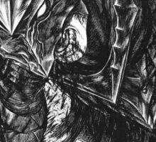 berserker armor Sticker