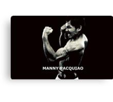 Manny Pacquiao Canvas Print