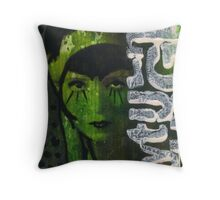 Altered Image Throw Pillow
