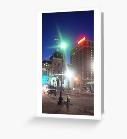 Providence Twilight Greeting Card