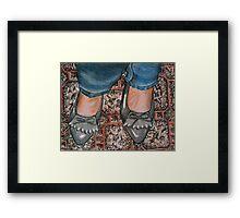 New Shoes Framed Print