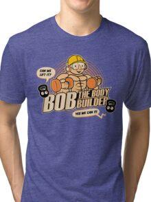 Bob the Bodybuilder Tri-blend T-Shirt