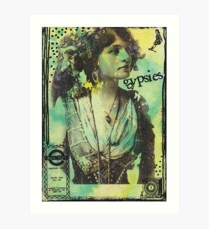 Gypsies Art Print