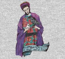 frida with birds. Kids Clothes
