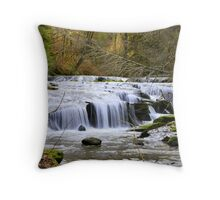 Sweet Creek, Oregon Throw Pillow