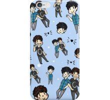 Dan & Phil Collage - Blue iPhone Case/Skin