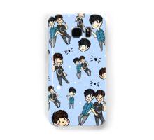 Dan & Phil Collage - Blue Samsung Galaxy Case/Skin
