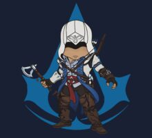 Connor Kenway Chibi: Assassin's Creed 3 Kids Clothes