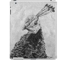 Pretty Peahen iPad Case/Skin