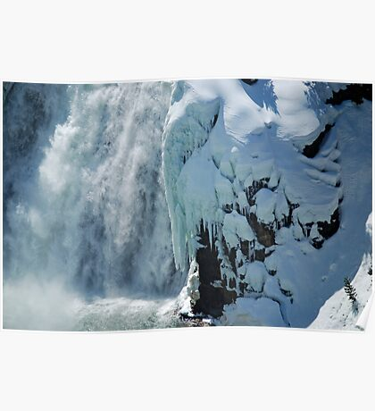 Angel Wings - Yellowstone National Park Poster