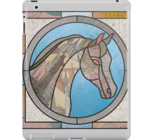 Stained Glass Map Horse iPad Case/Skin
