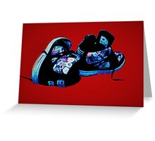 DC Shoes Greeting Card