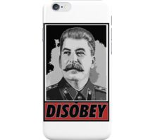 Stalin Disobeys iPhone Case/Skin