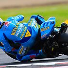 Tom Sykes No 66, Rizla Suzuki, British Superbikes, Croft Circuit, 2008 by RHarbron