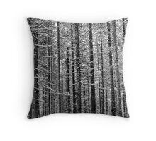 vertical rhythm Throw Pillow