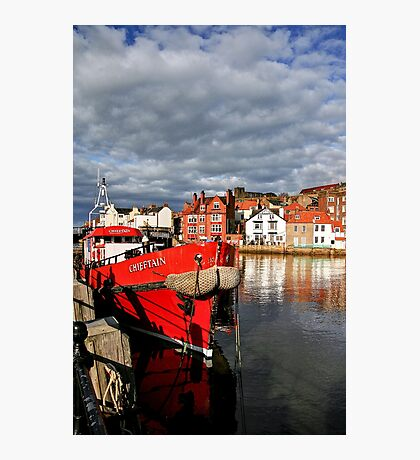 Reflections on the River Esk at Whitby, II Photographic Print