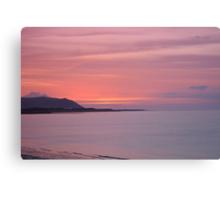 Somerset Sunset 2 Canvas Print
