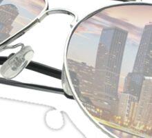 Chitown Sunglasses Sticker