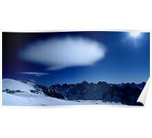 The Barre of Ecrin and Oisan mountain Poster