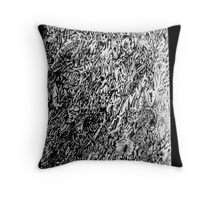 tripped out Throw Pillow