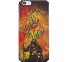 follow the burlgar iPhone Case/Skin