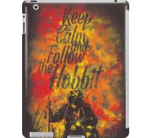 follow the burlgar iPad Case/Skin