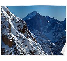 Barre des Ecrins (4100 meter) Poster