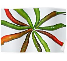 CHILLED CHILLIES Poster