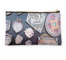 Indian Silver Studio Pouch