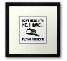 Flying Monkeys Framed Print