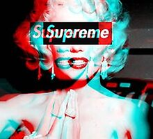 Marilyn Monroe Supreme Phone Case by MC3Matt