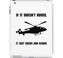 Helicopter Hover iPad Case/Skin