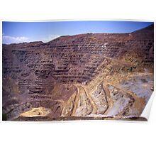 Copper Mine, Bisbee, AZ. Poster