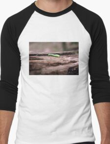 The Little Inchworm that Could Men's Baseball ¾ T-Shirt