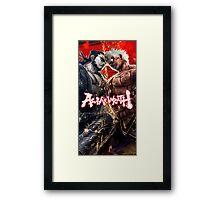 Asuras Fighting  Framed Print
