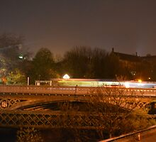 Glasgow at night by MBradders