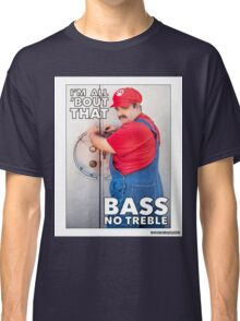 SexyMario MEME - All About That Bass Classic T-Shirt