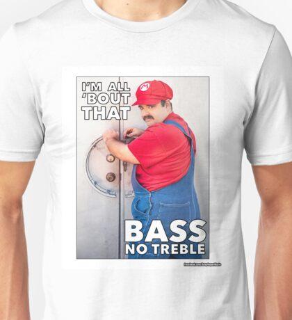 SexyMario MEME - All About That Bass Unisex T-Shirt