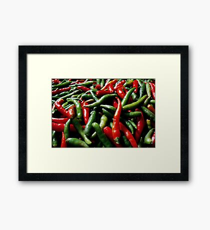 Spicy ... Framed Print