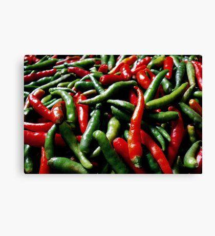 Spicy ... Canvas Print