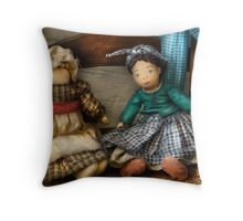Dolls Americana Throw Pillow