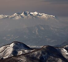 Shiga Kogen Views by Robert Mullner