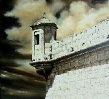 Il-Gardjola.  The Watch Tower by BRIMMER