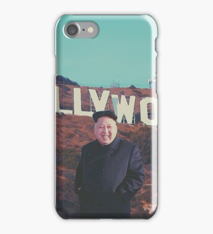 Kim comes to Hollywood iPhone Case/Skin